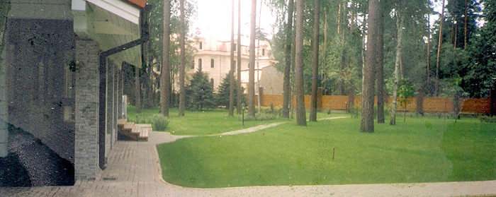 озеленение территории парка
