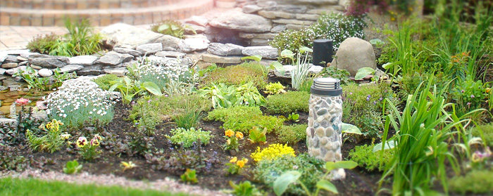ландшафтное озеленение: цветы