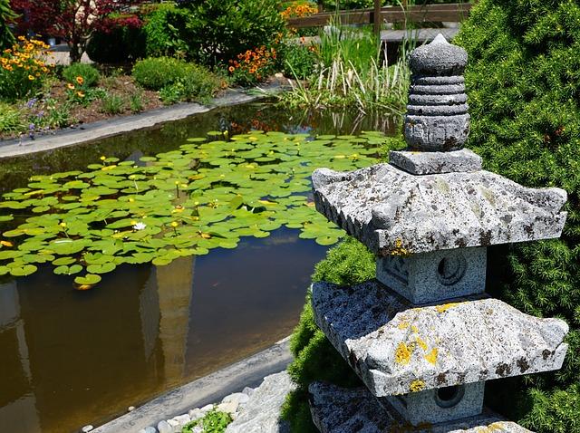 японский или китайский стиль в ландшафтном дизайне